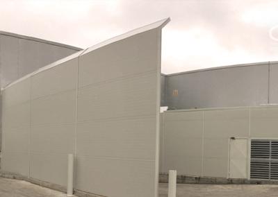 Walmart: Supermercado Líder La Serena. Insonorización en central de frío. IV Región