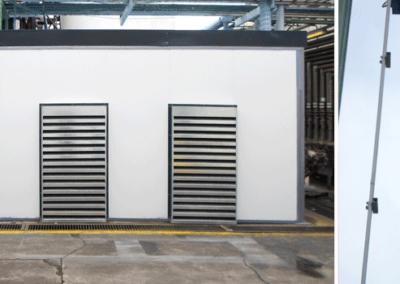 BASF: Diseño, fabricación e implementación de sistema de insonorización en industria