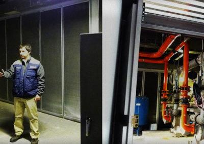 Banco Santander: Insonorización en sala chillers y de bombas de agua