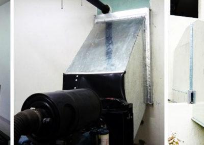 Constructora Almagro: Insonorización Sala de Grupo Electrógeno